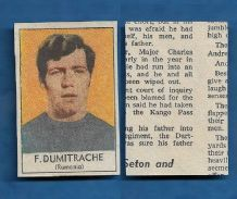 Romania Florea Dumitrache Dynamo Bucharest 1970